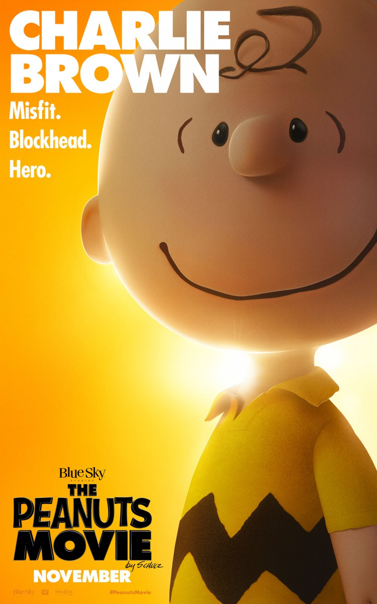 The Peanuts Move Charlie Brown Poster