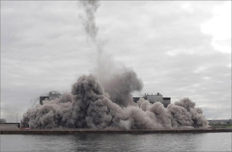cockenzie chimney rubble