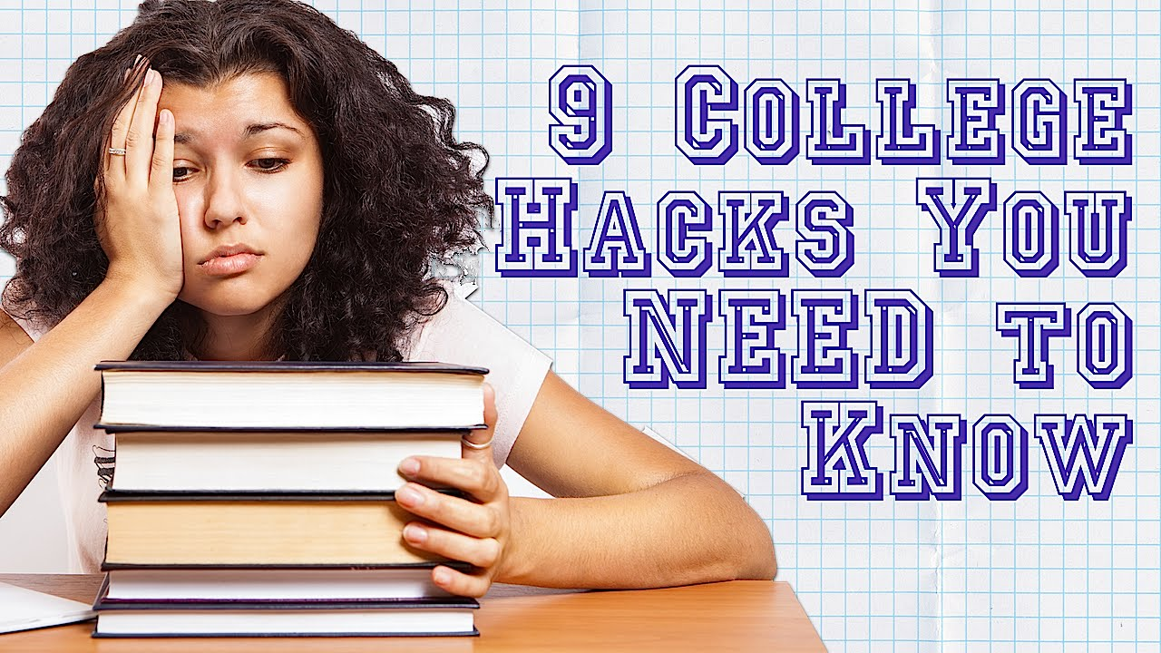 College Life Hacks for To Help With Memorization, Procrastination and Saving Money