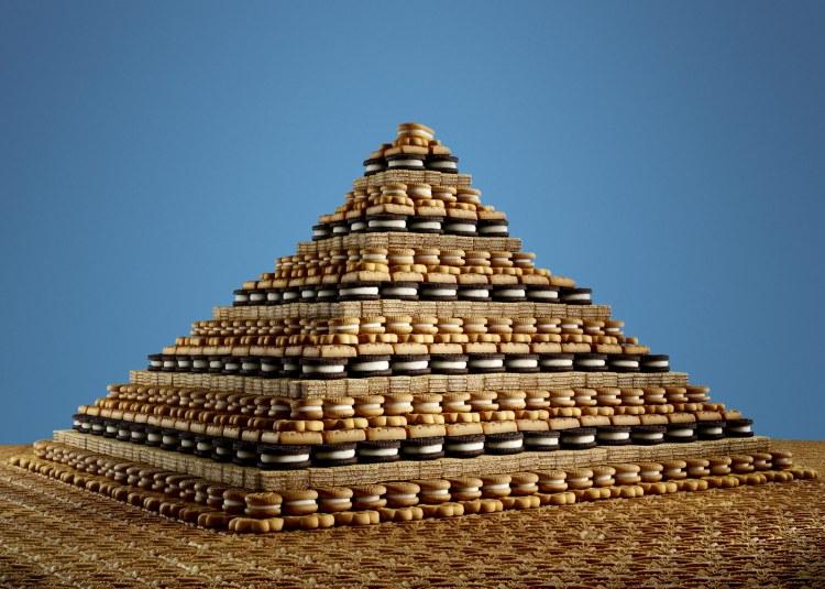 Cookie Pyramid