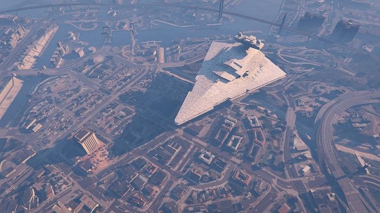 Imperial Star Destroyer GTA