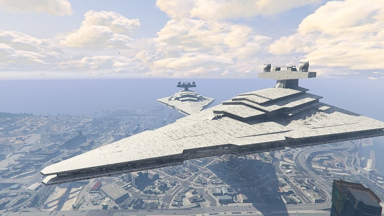 Imperial Star Destroyer GTA