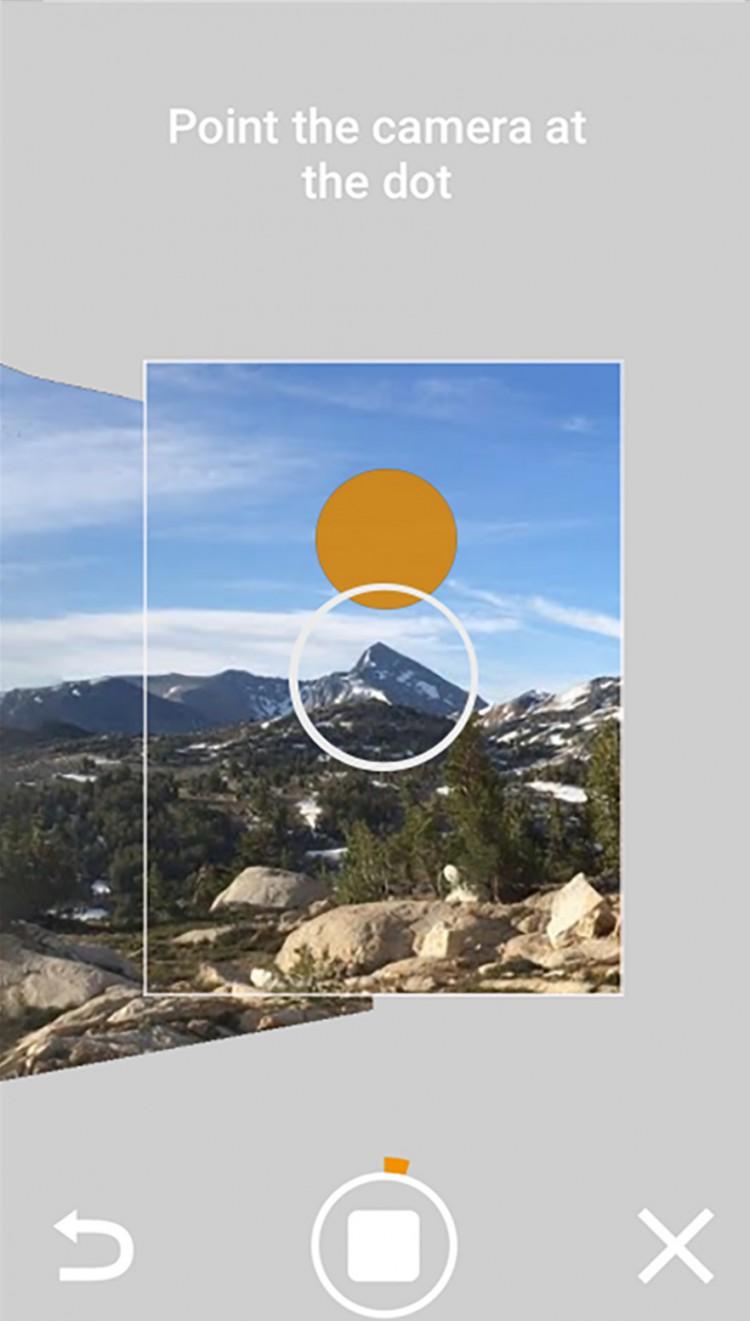Google Street View App Camera