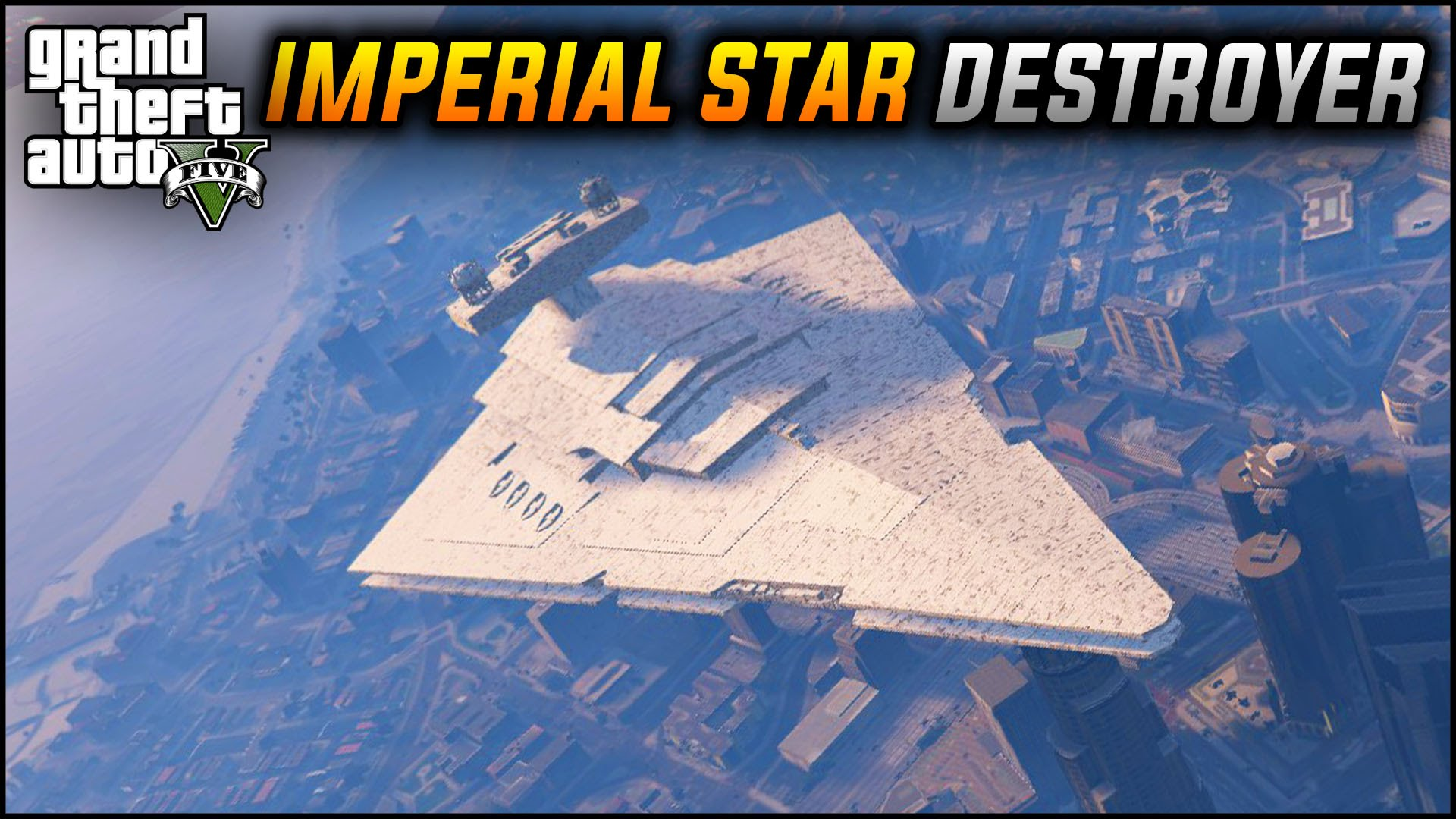 A 'Grand Theft Auto V' PC Mod That Brings an Imperial Star