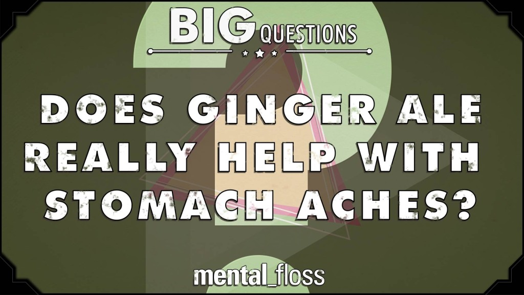 How the Ginger in Ginger Ale Helps to Relieve Gastrointestinal Distress
