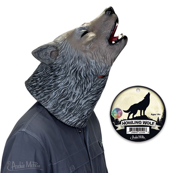 Howling Wolf Mask