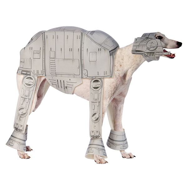 Star Wars AT-AT Walker Dog Costume  sc 1 st  Laughing Squid & Star Warsu0027 AT-AT Walker and Dewback Costume for Dogs