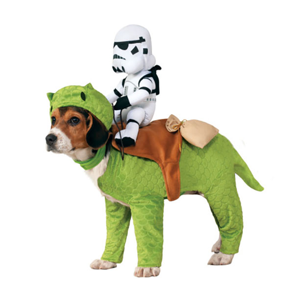 Star Wars Dewback Dog Costume  sc 1 st  Laughing Squid & Star Warsu0027 AT-AT Walker and Dewback Costume for Dogs