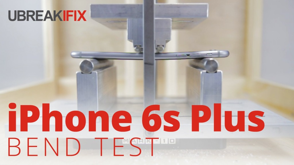 iPhone 6s Plus Put Through 100 Pound Bend Test and Found To Be Much Stronger Than the Original iPhone 6 Plus