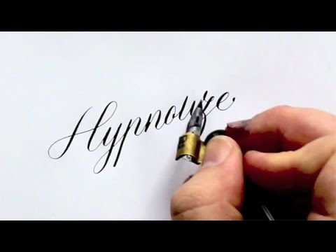 Popular Master Calligrapher Seb Lester Talks About His