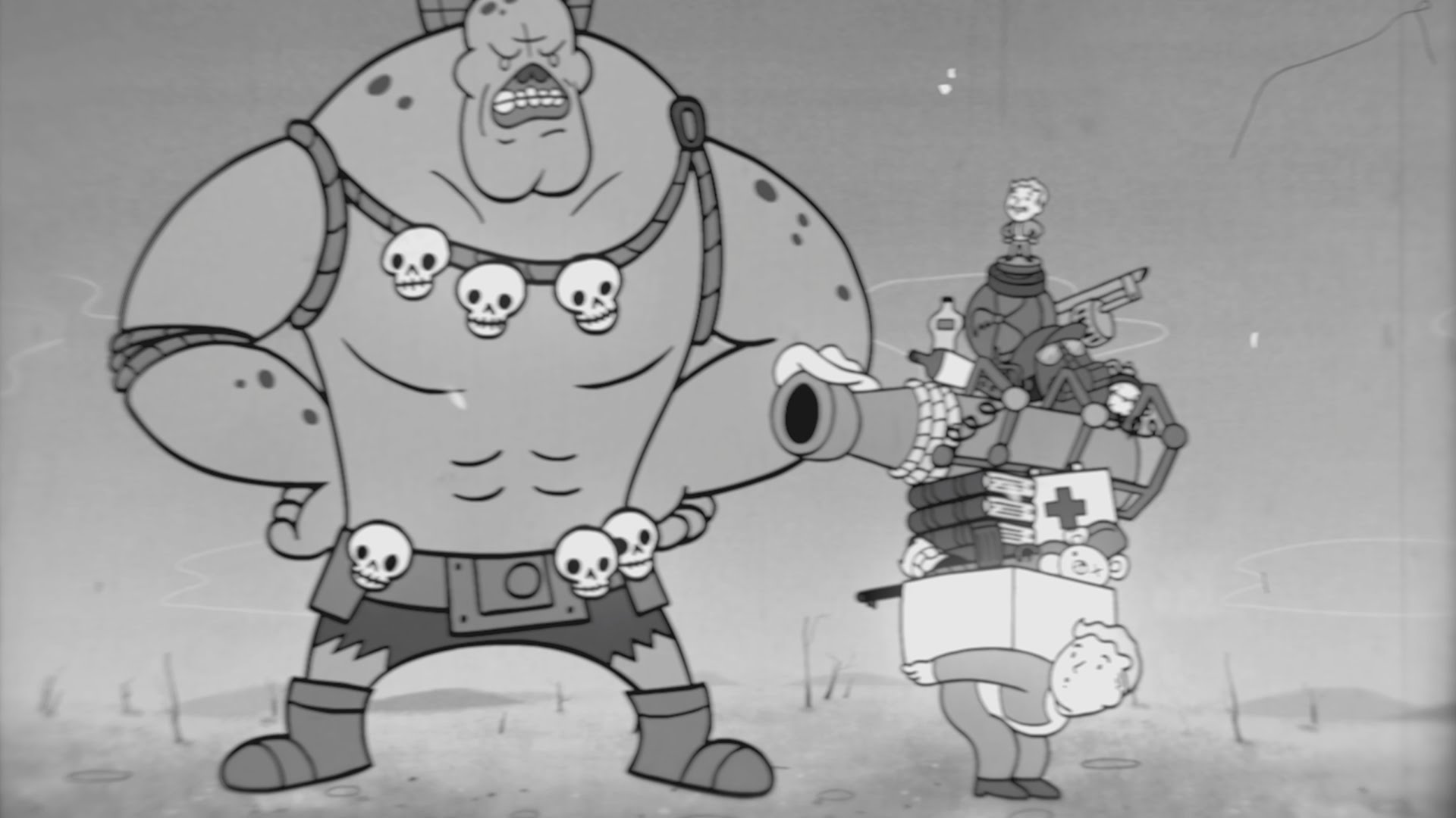 'Strength', Episode #1 of the 1950s Style Animated Educational Video Series for 'Fallout 4' S.P.E.C.I.A.L. Attributes
