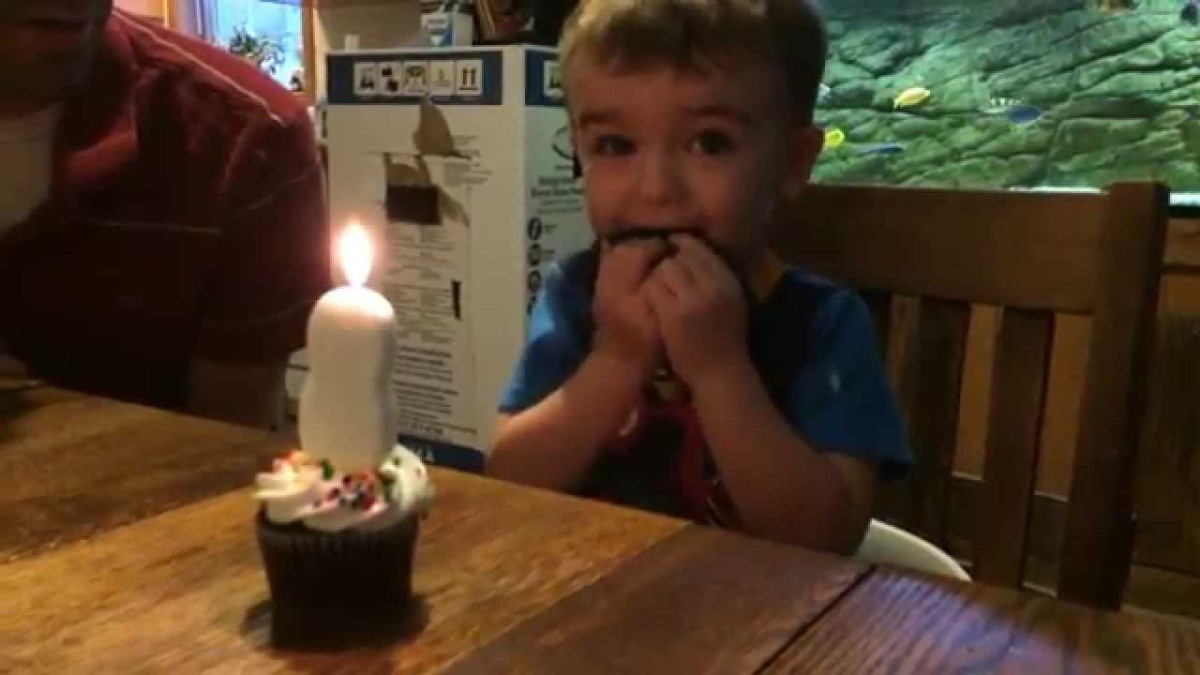 Young Marty Can T Blow Out The Candle On His Second