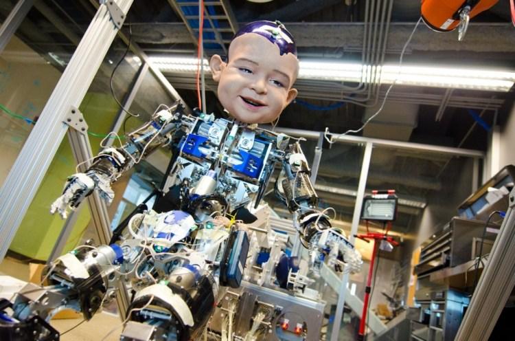 Diego-San humanoid robot