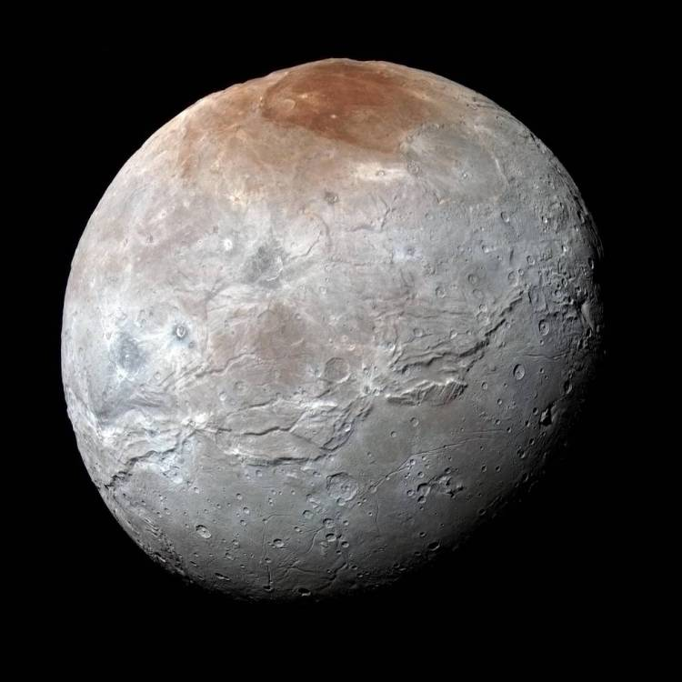 Enhanced Color Image of Charon