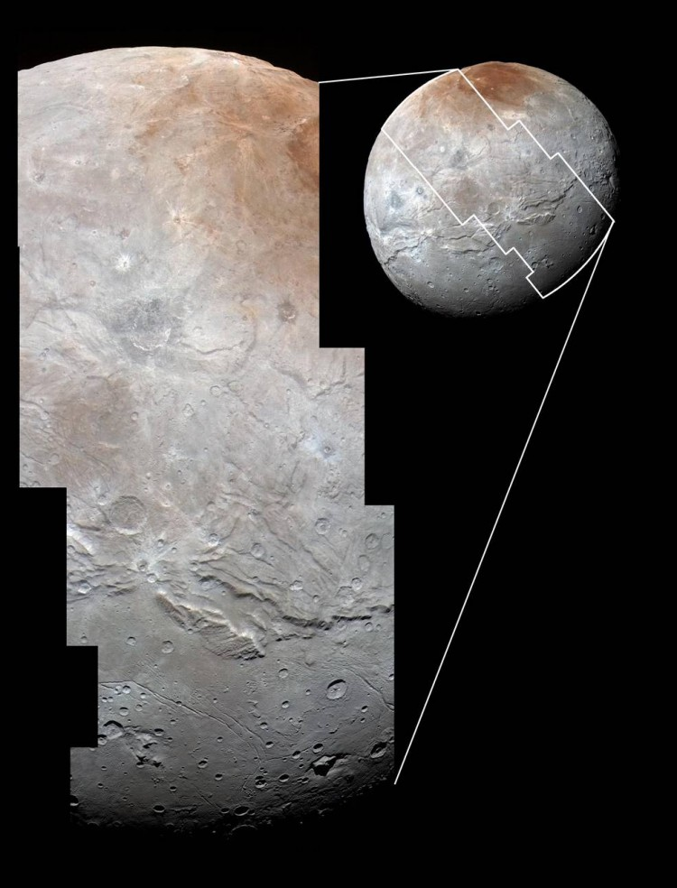 High Res Images of Charon