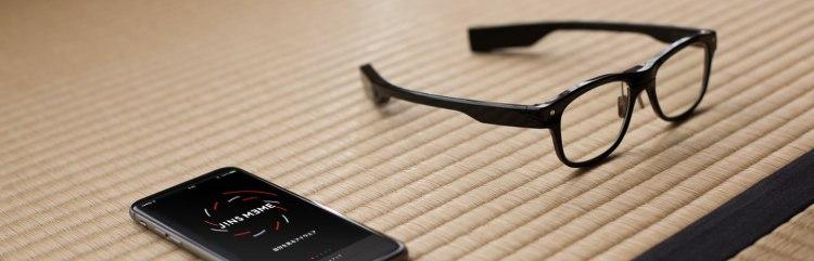 JINS Meme Glasses and App