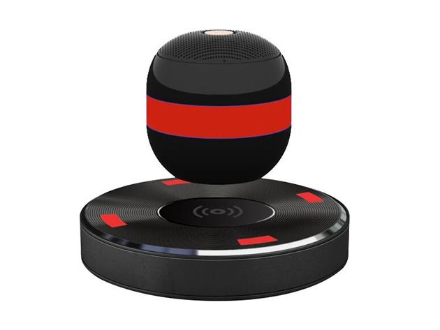 Lyrix Axis Levitating Speaker Red