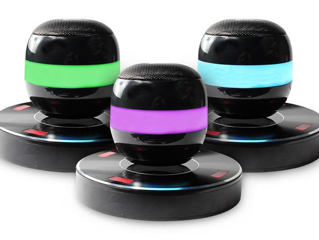 Lyrix Axis Levitating Speakers in 3 Colors