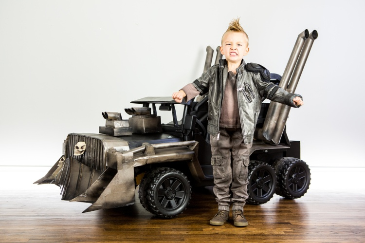 Mad Max War Rig Four Year Old