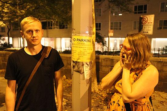 No Parking Annie Hall 2 Shocked