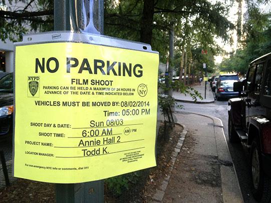 No Parking Annie Hall 2