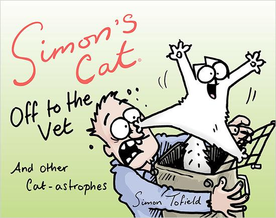 Simon of Simon's Cat Provides an Inside Glimpse Into the Making of His New Book, 'Off to the Vet'