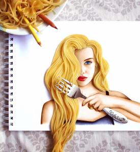 Spaghetti Hair