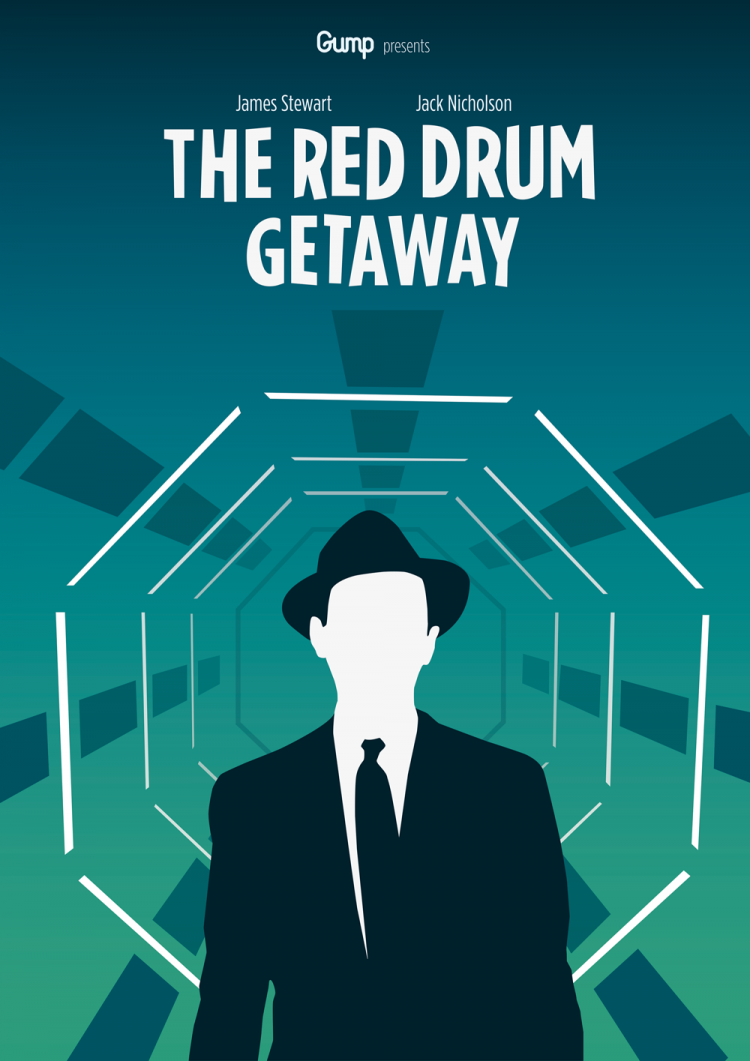 The Red Drum Getaway Poster