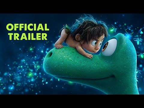 A Young Dino Loses His Family and Becomes Friends With a Little Human Boy in the New Trailer for 'The Good Dinosaur'