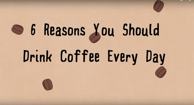 An Animated Look at Various Reasons To Drink Coffee Every Day
