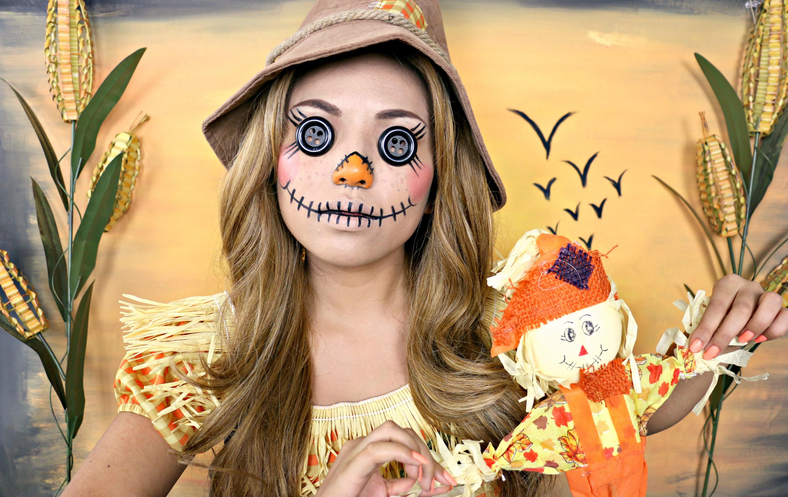 Best Halloween Scarecrow Makeup Pictures - harrop.us - harrop.us