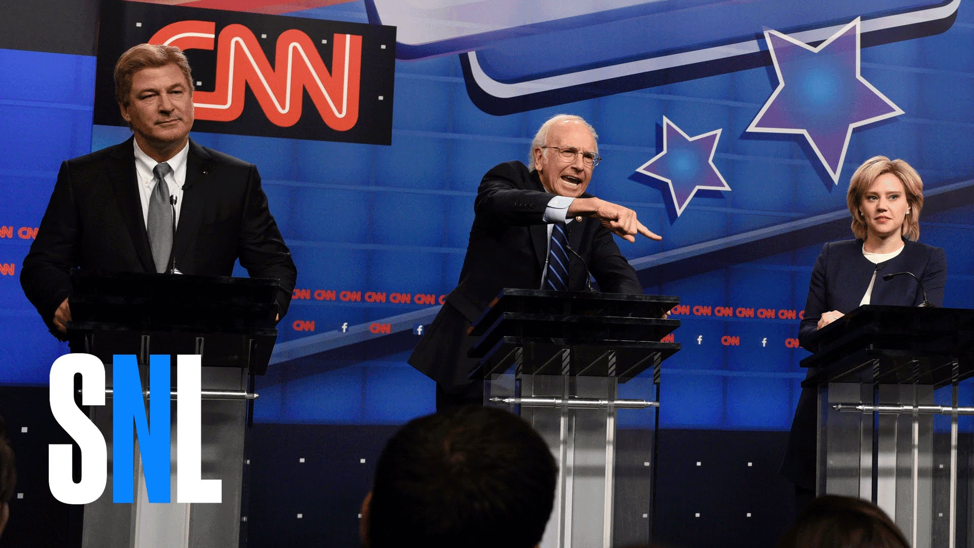 democratic presidential debate cold open on saturday night live