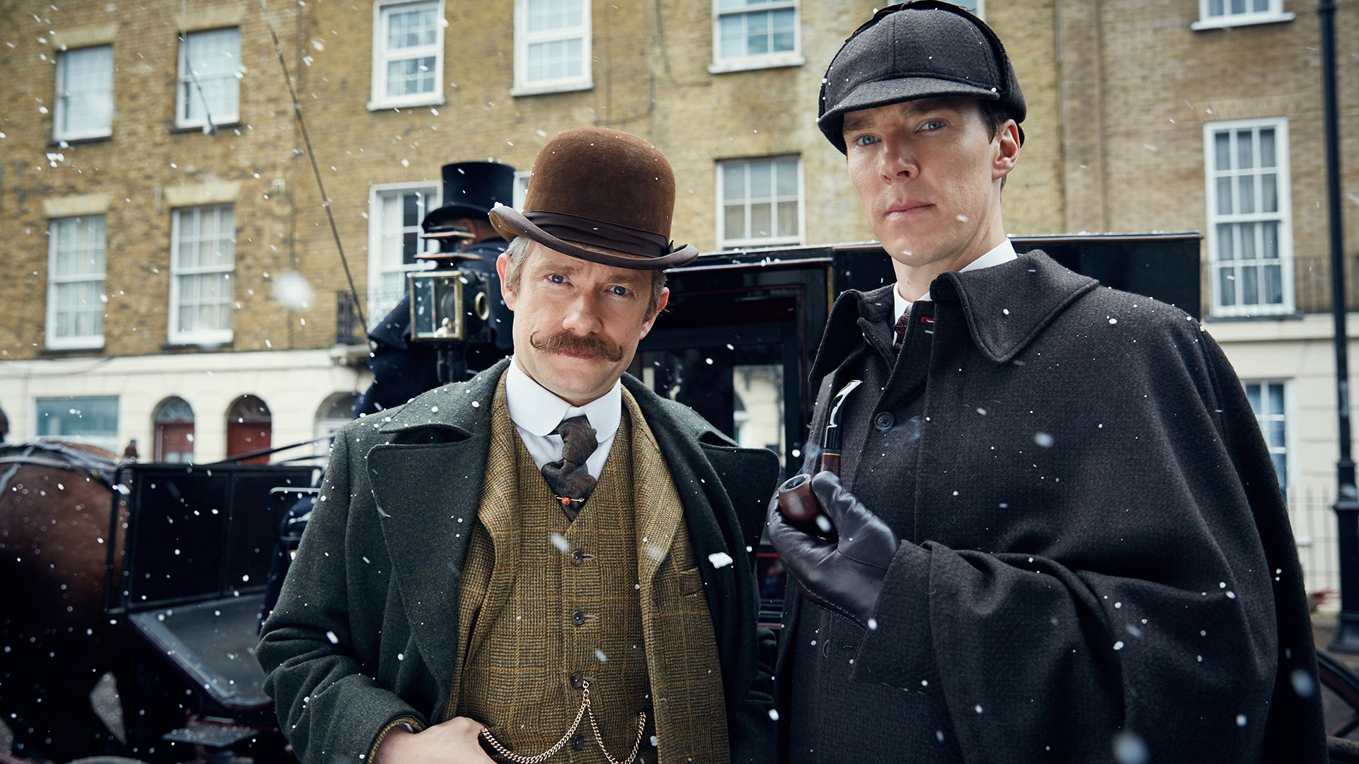Sherlock Holmes and Dr. Watson Travel Back to the Victorian Era to Solve  the Case of 'The Abominable Bride'