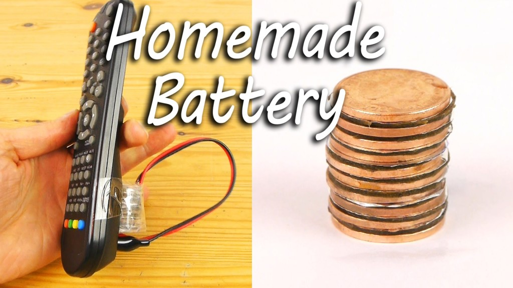 How to Make a Battery Using Copper Coins, Vinegar, Foil, and Cardboard