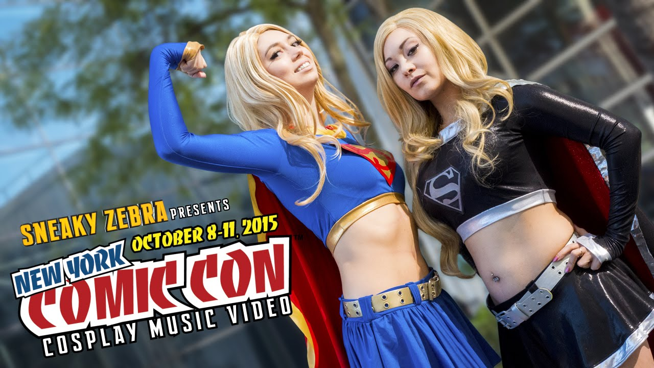 New York Comic Con 2015 Cosplay Music Video By Sneaky Zebra Features