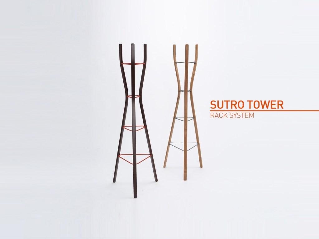Sutro Tower Rack