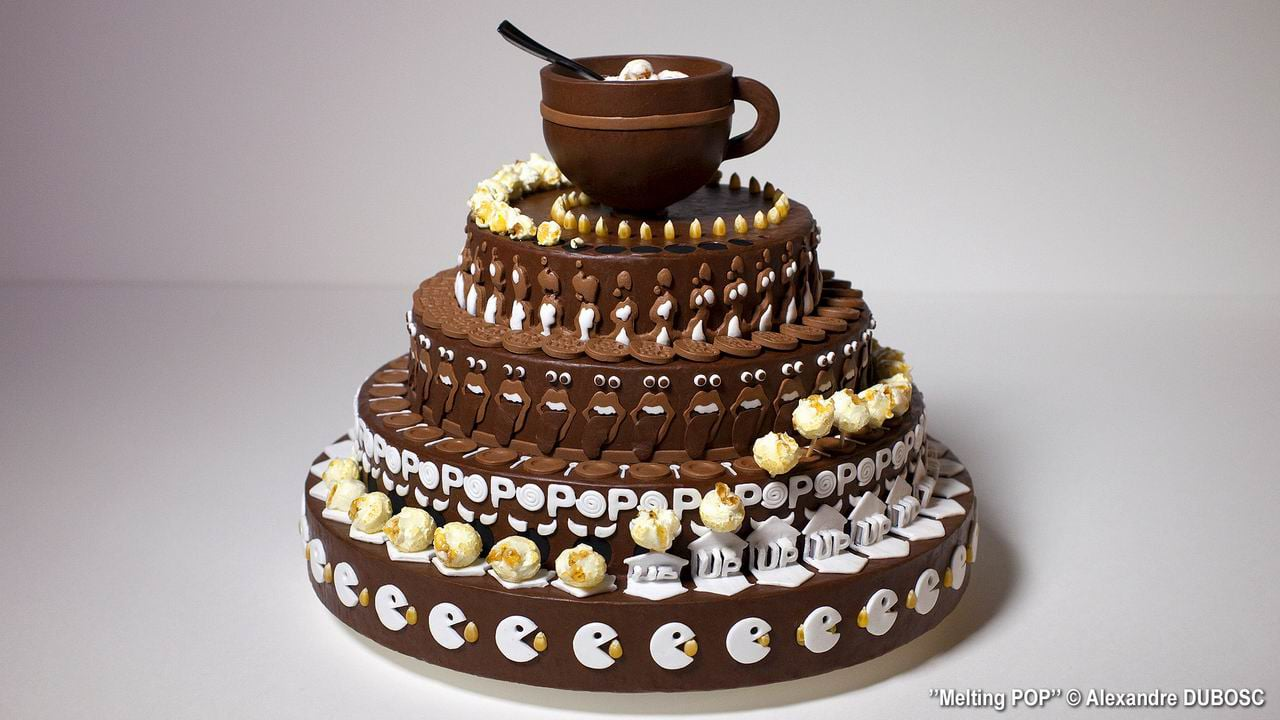 Pop Melting An Incredible Chocolate Cake Zoetrope