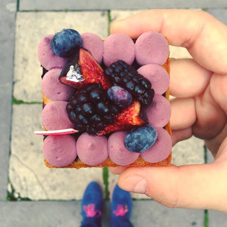 red fruit and matching shoes