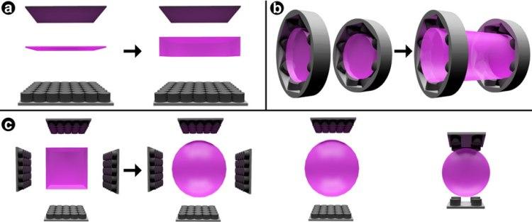 sound levitation tractor beam magenta area