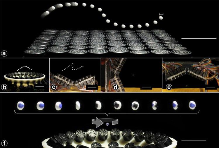 sound levitation tractor beam