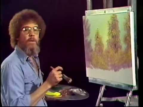 Bob Ross White Magicc Paint