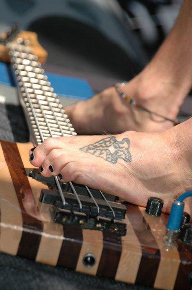 Toe Closeup