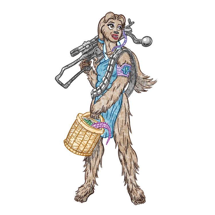 Belle Chewbacca