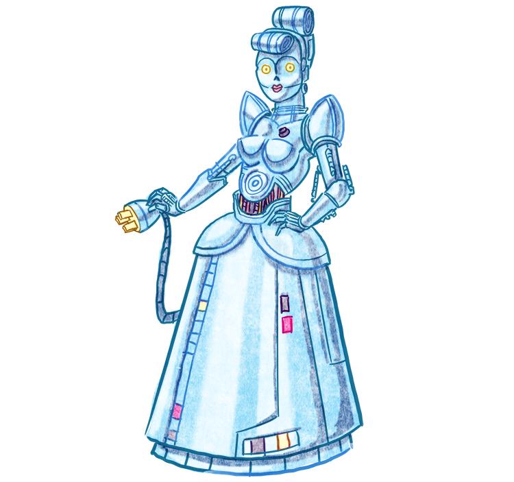 Cinderella C-3PO
