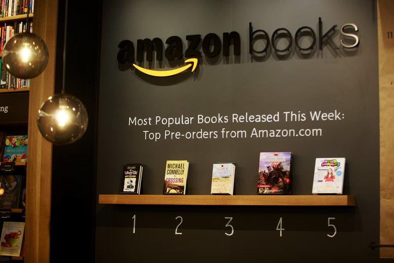 Amazon Opens Its First Physical Book Store in Seattle's