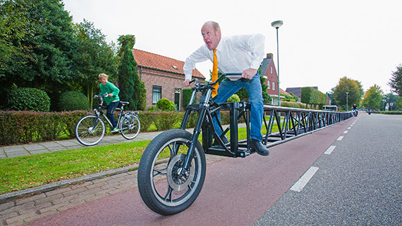 Driving World's Longest Bicycle