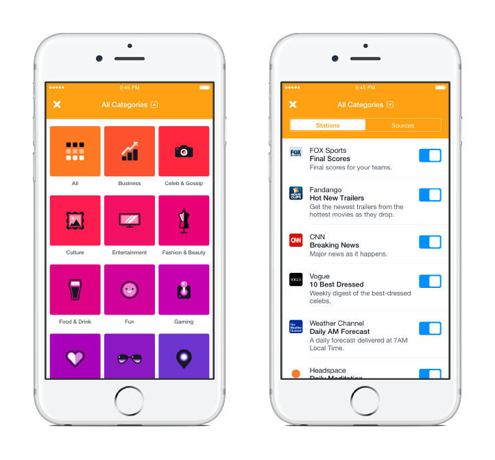 Facebook Notify App Screenshots 1