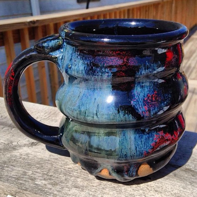 Finished Cosmic Mug