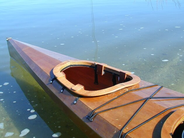 Kayak in Water