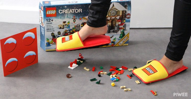 LEGO Slippers With Feet